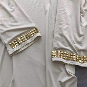 Michael Kors gorgeous tan dress size small